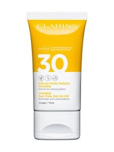 Clarins - Invisible Sun Care Gel-to-Oil for Face SPF 30 -aurinkosuojageeli kasvoille 50 ml - null | Stockmann