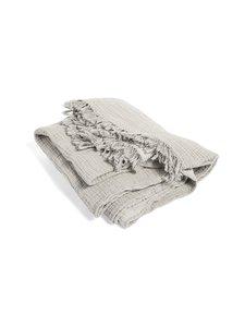 HAY - Crinkle-puuvillahuopa 210 x 150 cm - PLAID GREY (HARMAA) | Stockmann
