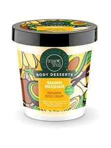 Organic Shop - Body Desserts Banana Milkshake Repairing -vartalovoide 450 ml - null | Stockmann