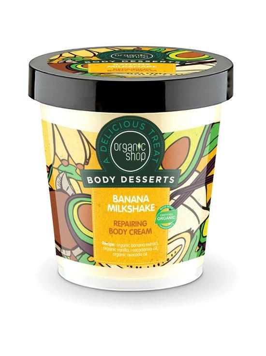 Organic Shop - Body Desserts Banana Milkshake Repairing -vartalovoide 450 ml | Stockmann - photo 1