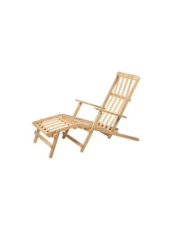Carl Hansen&Son - Deck Chair with Footrest -lepotuoli - TEAK | Stockmann - photo 4