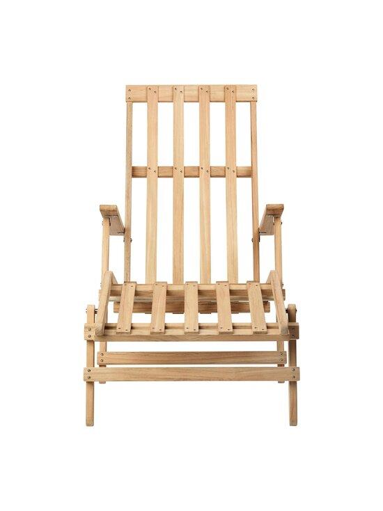 Carl Hansen&Son - Deck Chair with Footrest -lepotuoli - TEAK | Stockmann - photo 5
