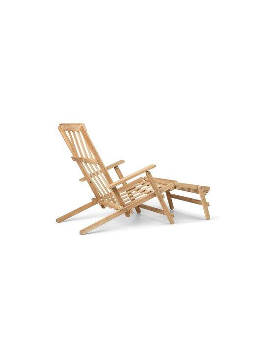 Carl Hansen&Son - Deck Chair with Footrest -lepotuoli - TEAK | Stockmann - photo 6
