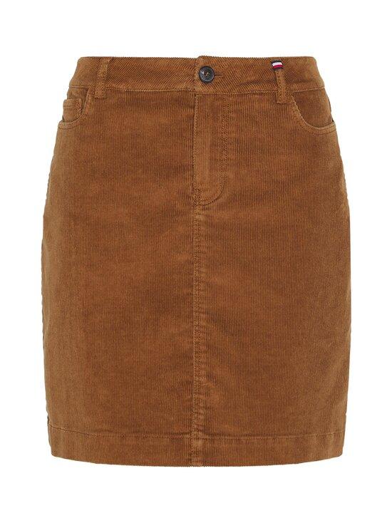 Tommy Hilfiger - Corduroy Mini Skirt -hame - GWP HIGHLAND KHAKI   Stockmann - photo 1