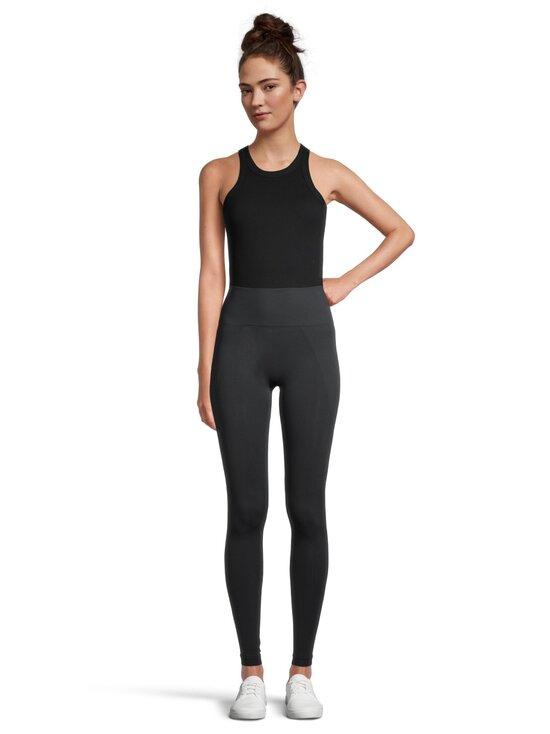 Filippa K - High Seamless Legging -leggingsit - 8905 COAL   Stockmann - photo 2