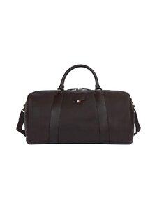 Tommy Hilfiger - Casual Leather Duffle Bag -nahkalaukku - GE4 CIGAR | Stockmann