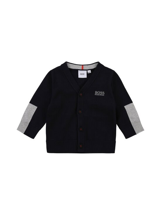 Hugo Boss Kidswear - KNITTED CARDIGAN -neuletakki - 849 NAVY | Stockmann - photo 1