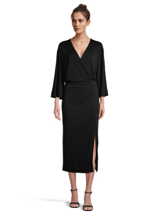 Filippa K - Rene Dress -kietaisumekko - 1433 BLACK | Stockmann - photo 2