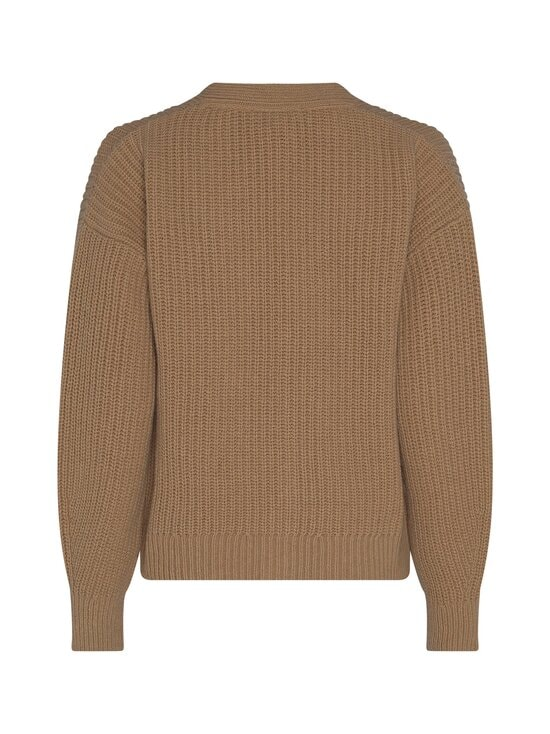 Tommy Hilfiger - Rib V-Neck Cardi -neuletakki - GV7 TIMELESS CAMEL | Stockmann - photo 2