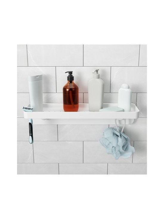 Umbra - Flex Surelock Bath Shelf -kylpyhuonehylly - WHITE   Stockmann - photo 5