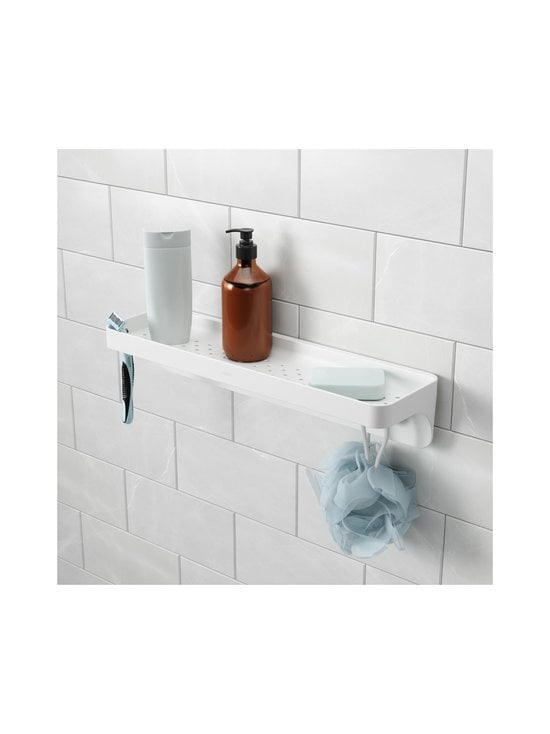 Umbra - Flex Surelock Bath Shelf -kylpyhuonehylly - WHITE   Stockmann - photo 6