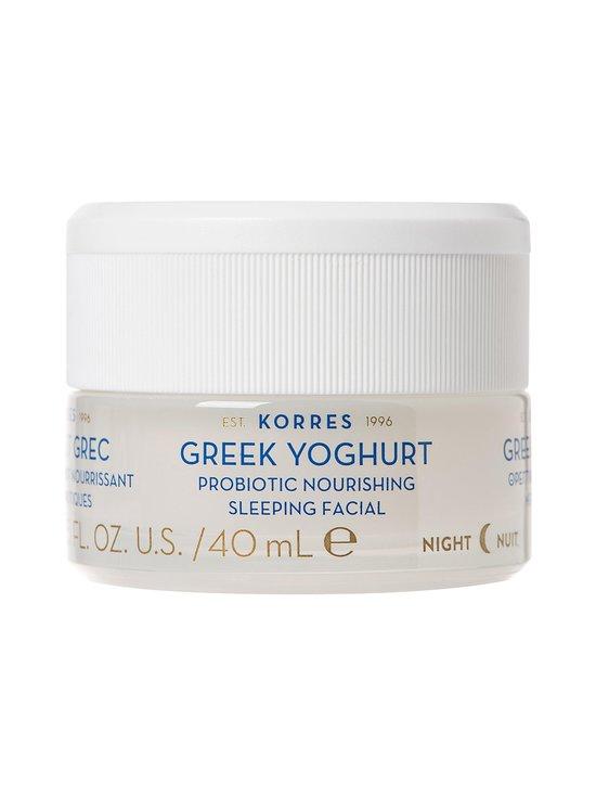 Korres - Greek Yoghurt Probiotic Nourishing Sleeping Facial -yönaamio 40 ml - NOCOL | Stockmann - photo 1