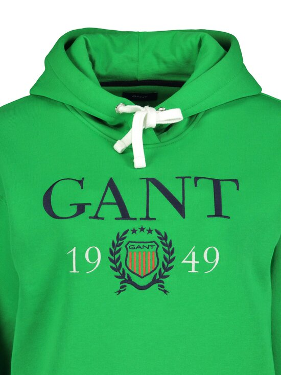 GANT - Crest 1949 Hoodie Sweater -huppari - 367 FERN GREEN | Stockmann - photo 3