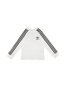 adidas Originals - 3 Stripes Tee -paita - WHITE | Stockmann