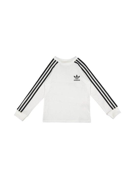 adidas Originals - 3 Stripes Tee -paita - WHITE   Stockmann - photo 1