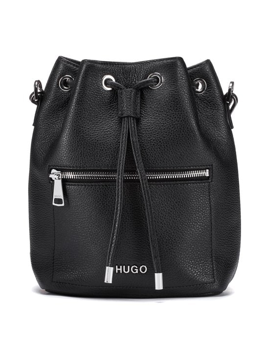 HUGO - Maiden Drawstring -nahkalaukku - 001 BLACK | Stockmann - photo 1