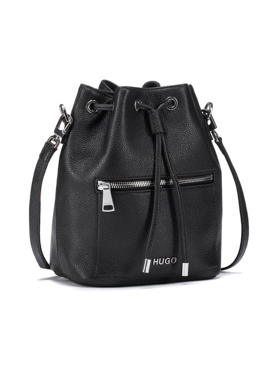 HUGO - Maiden Drawstring -nahkalaukku - 001 BLACK | Stockmann - photo 2