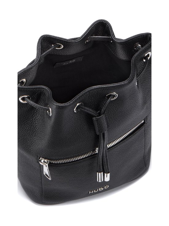 HUGO - Maiden Drawstring -nahkalaukku - 001 BLACK | Stockmann - photo 3