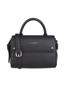 Karl Lagerfeld - K/Ikon Mini Top Handle -nahkalaukku - A999 BLACK   Stockmann