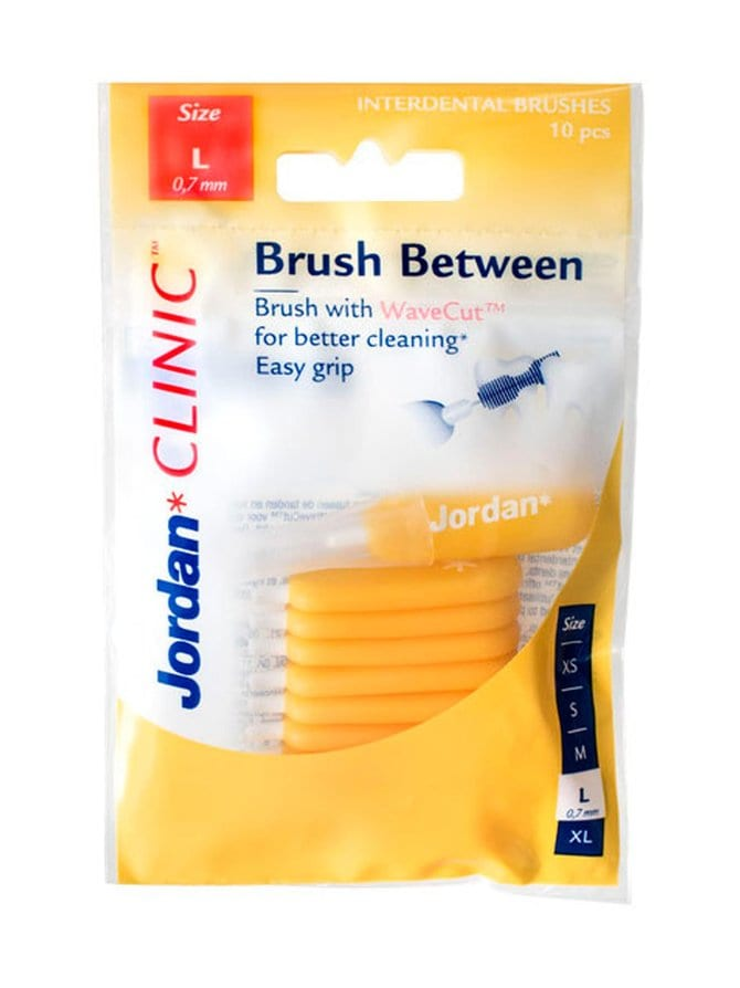 Clinic Brush Between L -hammasväliharja 10 kpl