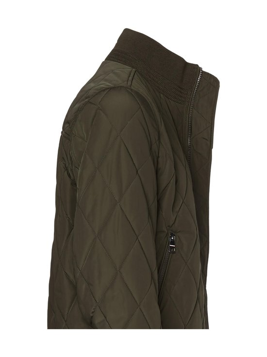 Tommy Hilfiger - Diamond Quilted Bomber -takki - MSE PROCESS GREEN | Stockmann - photo 3