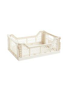 HAY - Colour Crate M -laatikko 40 x 30 x 14,5 cm - OFF-WHITE | Stockmann