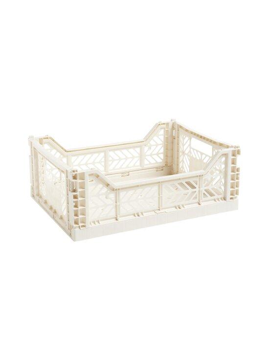 HAY - Colour Crate M -laatikko 40 x 30 x 14,5 cm - OFF-WHITE | Stockmann - photo 1