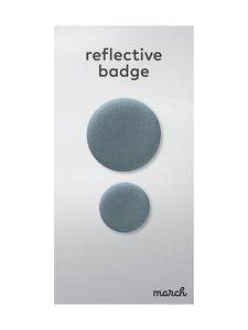 March Design - Oreflector- heijastava rintamerkki 2 kpl - BLUE   Stockmann