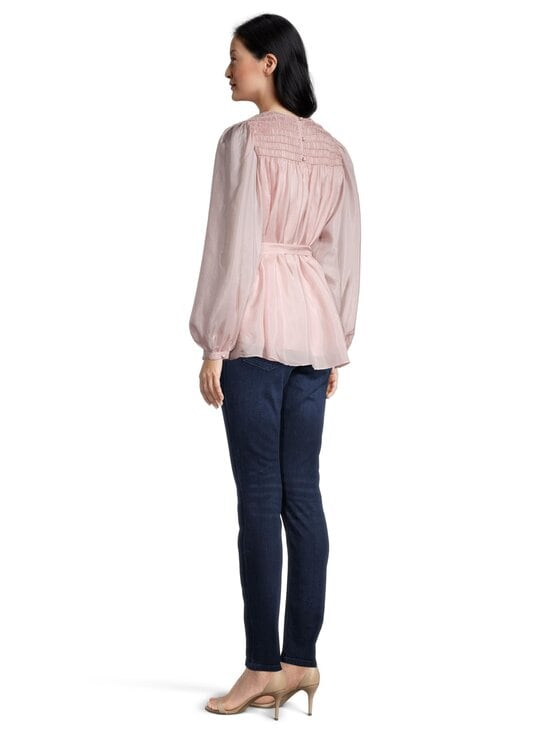 Tory Burch - Corded Top -silkkipusero - 654 ICED PINK | Stockmann - photo 5