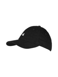 Carhartt WIP - Madison logo -lippalakki - BLACK/WHITE (MUSTA)   Stockmann
