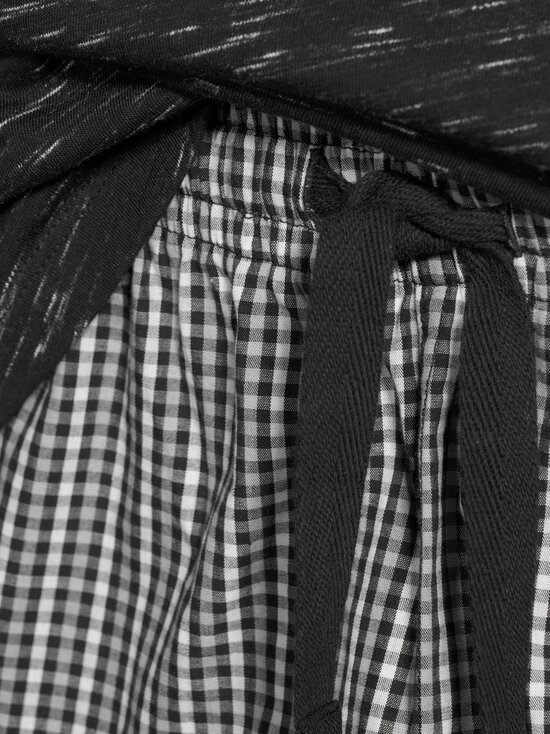 CONSTRUE - Naples-pyjama - BLACK/GREY CHECK | Stockmann - photo 3