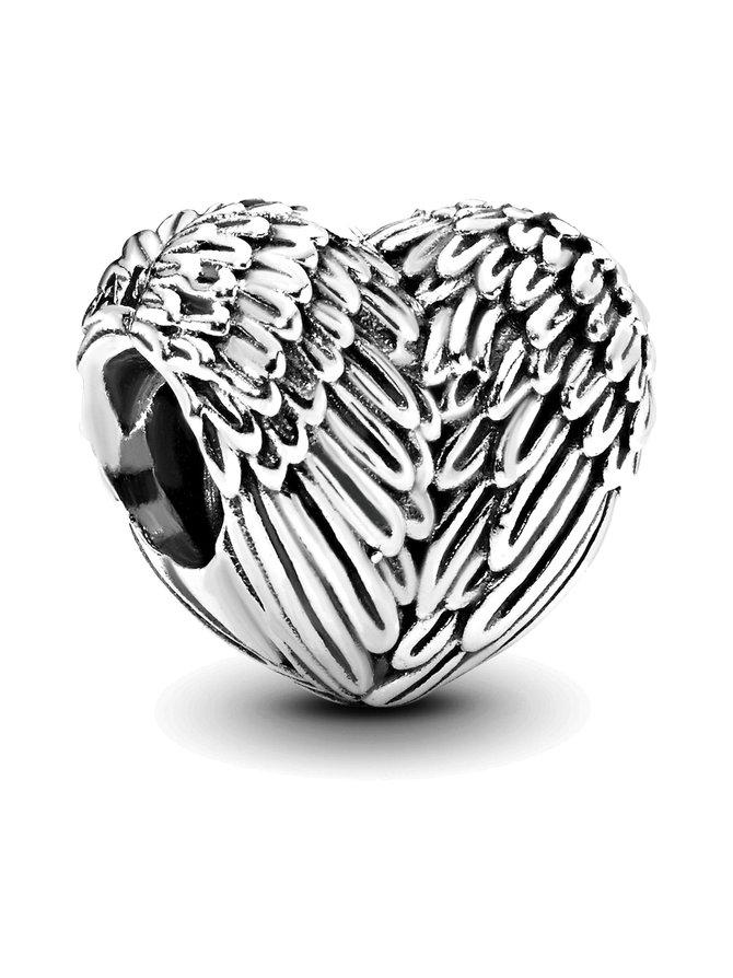Heart Silver Charm