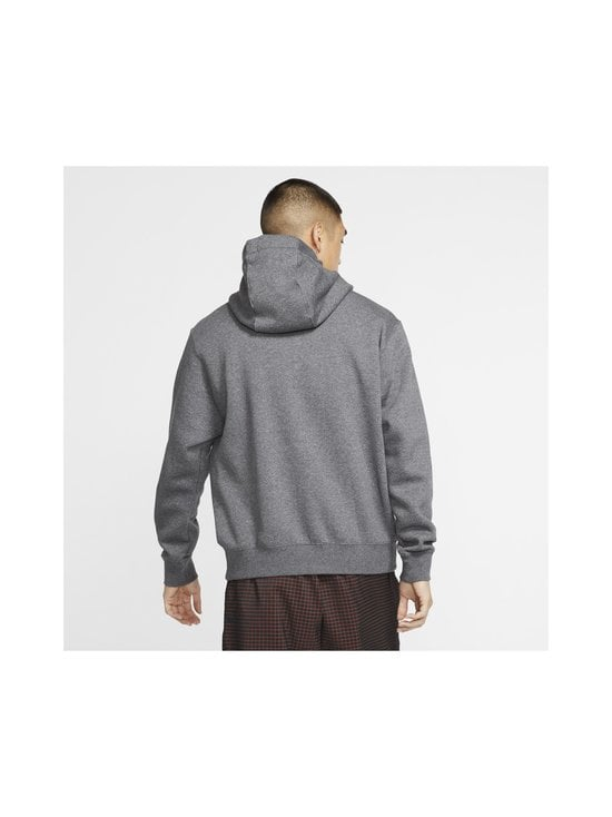 Nike - Sportswear Club Fleece -huppari - 071 CHARCOAL HEATHR/ANTHRACITE/WHITE   Stockmann - photo 4
