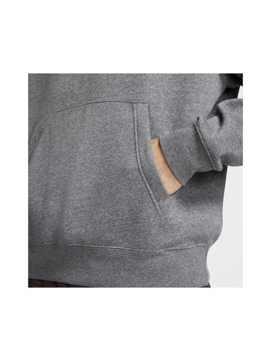 Nike - Sportswear Club Fleece -huppari - 071 CHARCOAL HEATHR/ANTHRACITE/WHITE   Stockmann - photo 6