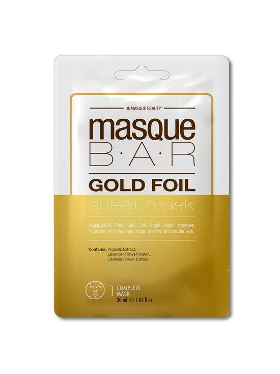Masque Bar - Gold Foil Sheet Mask -kasvonaamio - NOCOL | Stockmann - photo 1
