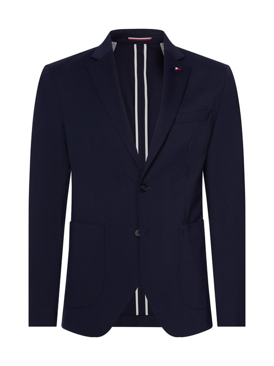 Tommy Hilfiger Tailored - TH Flex Slim Fit Jersey Blazer -bleiseri - DW5 DESERT SKY   Stockmann - photo 1