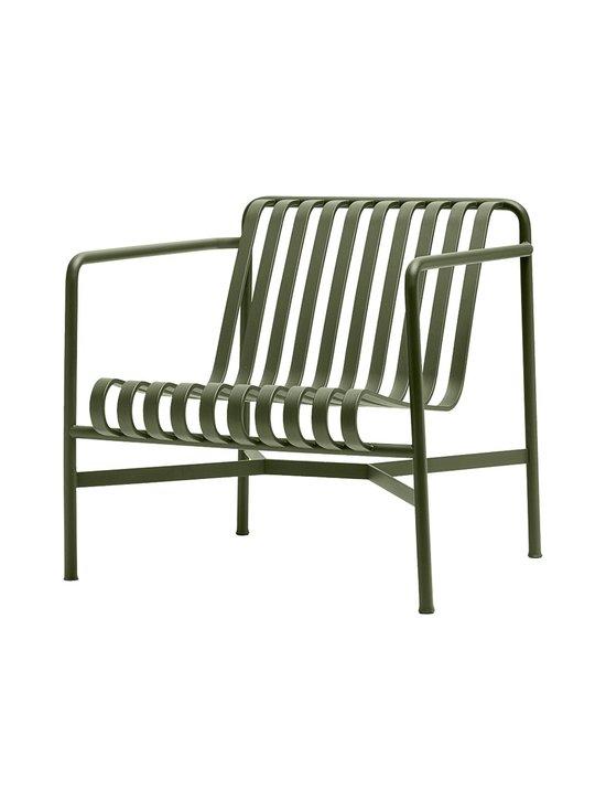 HAY - Palissade Lounge Chair Low -lepotuoli 73 x 81 cm - OLIVE (OLIIVINVIHREÄ) | Stockmann - photo 1