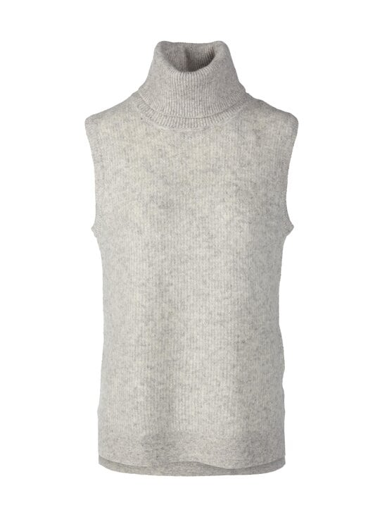 Neo Noir - Cody Knit Waistcoat -villasekoiteneuleliivi - 103 LIGHT GREY MELANGE | Stockmann - photo 1