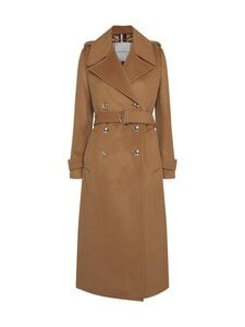 Tommy Hilfiger - TH Warm Belted Maxi Coat -villakangastakki - RBL CLASSIC KHAKI | Stockmann