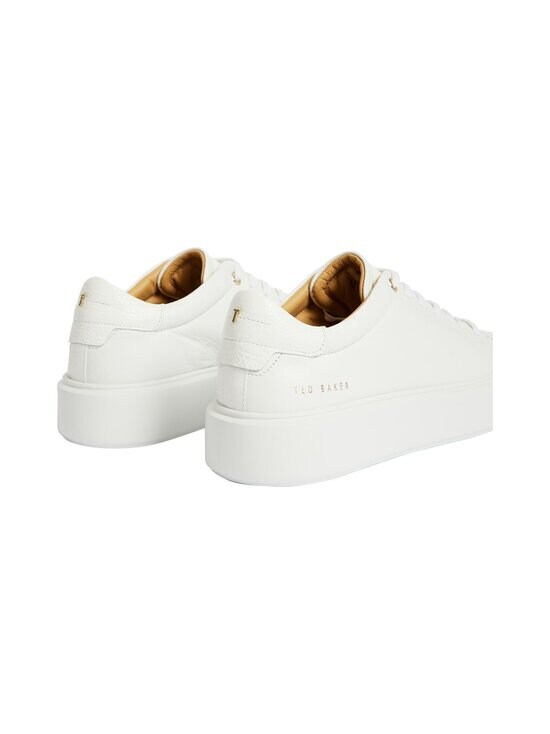 Ted Baker London - Yinka Leather Platform Trainer -nahkasneakerit - WHITE   Stockmann - photo 4