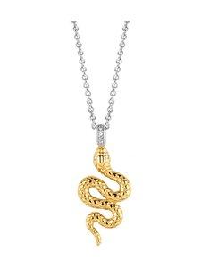 Ti Sento - Kaulakoru - SILVER YELLOW GOLD PLATED | Stockmann