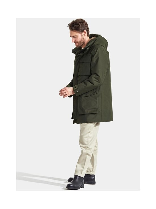 Didriksons - Delta-parka - 447 FOREST GREEN | Stockmann - photo 7