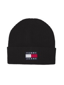 Tommy Jeans - TJW Heritage Beanie -pipo - BDS BLACK | Stockmann