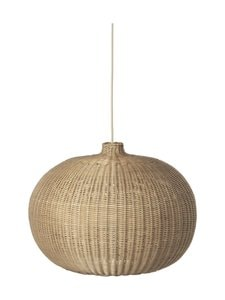 Ferm Living - Braided Belly Lamp Shade -riippuvalaisin 54 cm - NATURAL | Stockmann