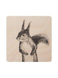 MIIKO - Orava-lasinalunen 10 x 10 cm - MULTICO   Stockmann