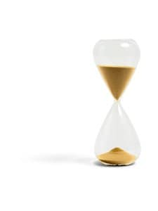 HAY - Time 45 min XL -tiimalasi - GOLD | Stockmann
