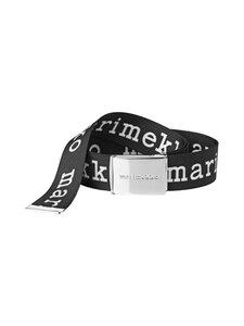 Marimekko - Kaukana Logo -vyö - 910 BLACK, WHITE   Stockmann