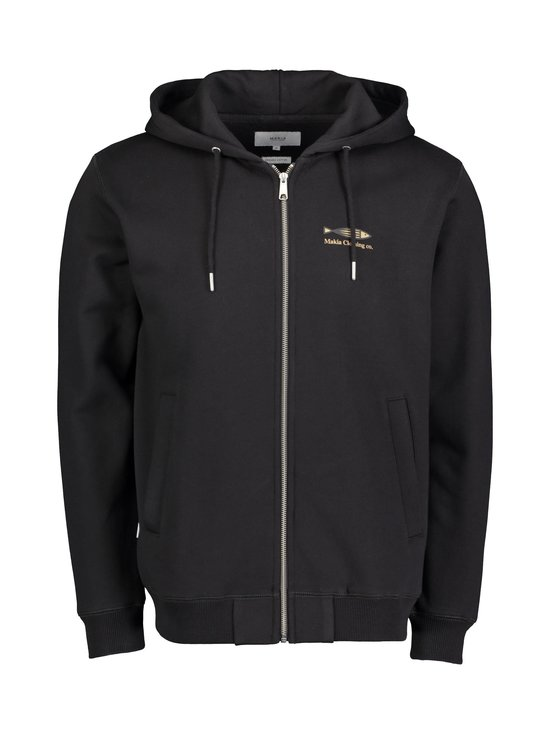 Makia - Fiskari Hooded Sweatshirt -huppari - 999 BLACK | Stockmann - photo 1