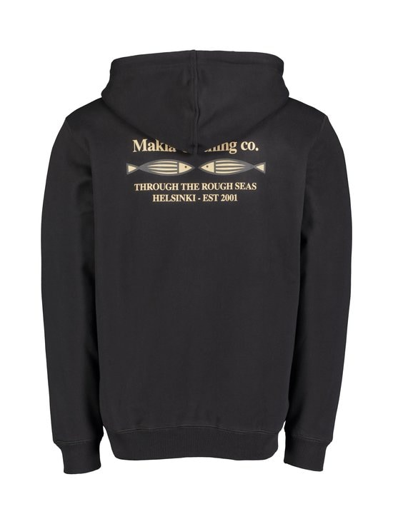 Makia - Fiskari Hooded Sweatshirt -huppari - 999 BLACK | Stockmann - photo 2