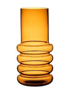 Wikholm Form - Ringo Glass Vase -maljakko 15 x 30 cm - AMBER | Stockmann